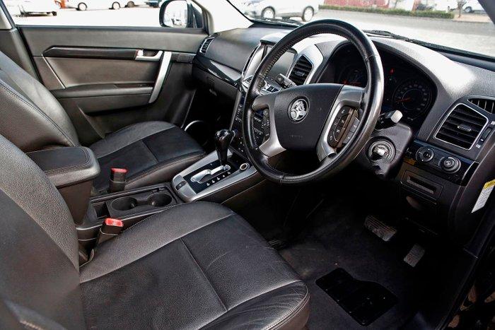 2011 Holden Captiva 7 LX CG Series II 4X4 On Demand Black