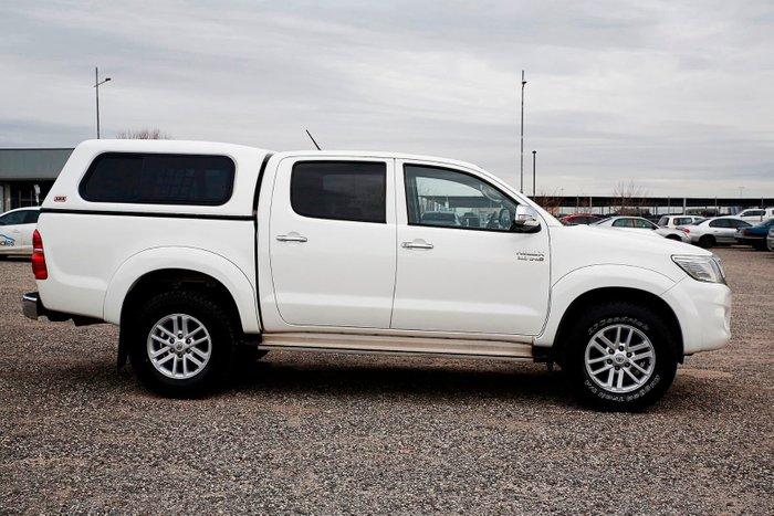 2012 Toyota Hilux SR5 KUN26R MY12 4X4 White