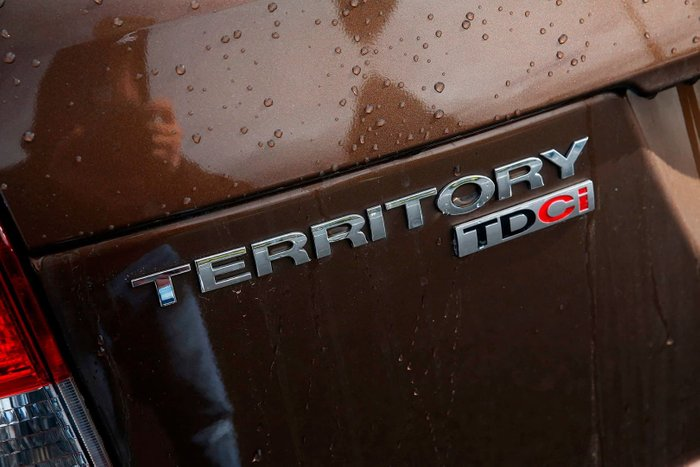 2014 Ford Territory TX SZ Brown