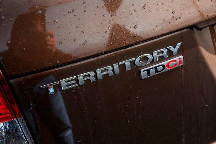 2014 Ford Territory TX SZ Brown