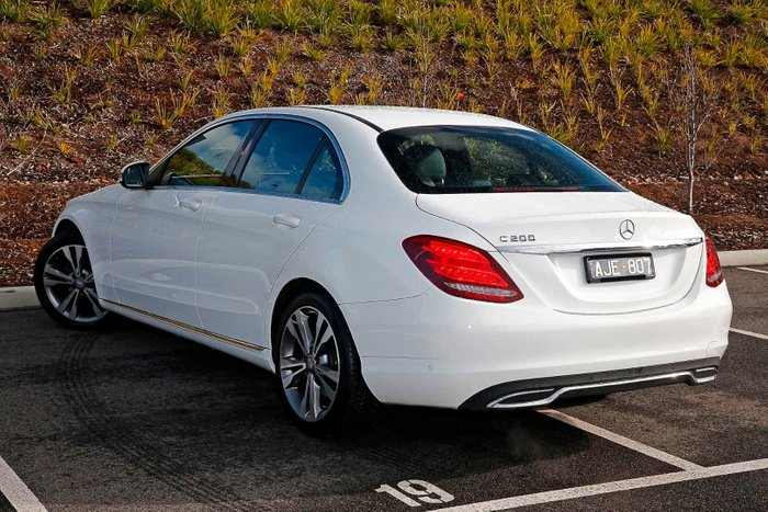2015 Mercedes-Benz C200 W205 White