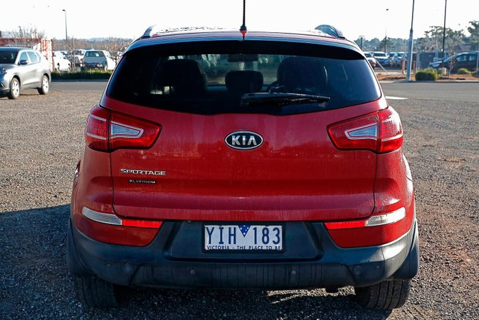 2011 Kia Sportage Platinum SL 4X4 On Demand Red