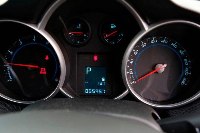2013 Holden Cruze Equipe JH Series II MY13 White