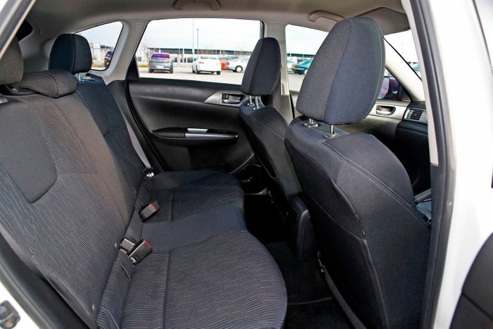 2011 Subaru Impreza R G3 MY11 Four Wheel Drive White
