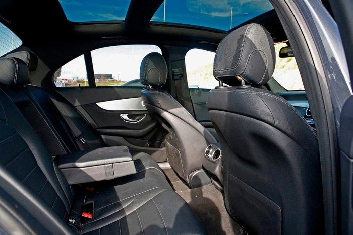 2015 Mercedes-Benz C-Class C300 BlueTEC Hybrid W205 Grey