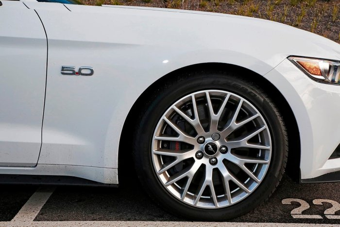 2016 Ford Mustang GT FM White