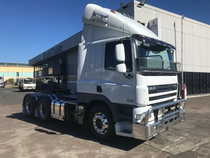 2013 DAF CF 75 Series CF 75 PRIME MOVER WHITE
