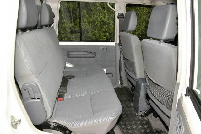 2016 TOYOTA LANDCRUISER GXL DUAL CAB VDJ79R WHITE