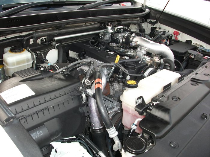 2003 Toyota Landcruiser Prado GX RZJ120R 4X4 Constant White