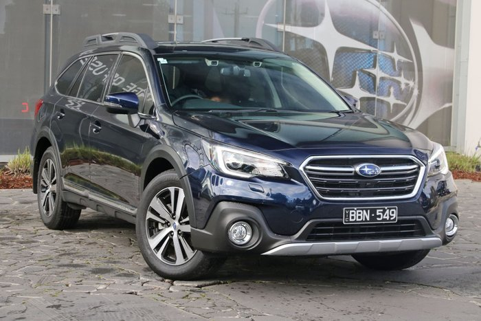 2018 Subaru Outback 3.6R 5GEN MY18 Four Wheel Drive Blue