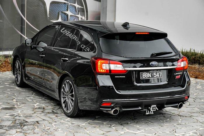 2018 Subaru Levorg 2.0 STI Sport V1 MY19 Four Wheel Drive Black
