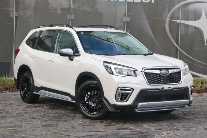 2019 Subaru Forester 2 5i S S5 My19 Four Wheel Drive White