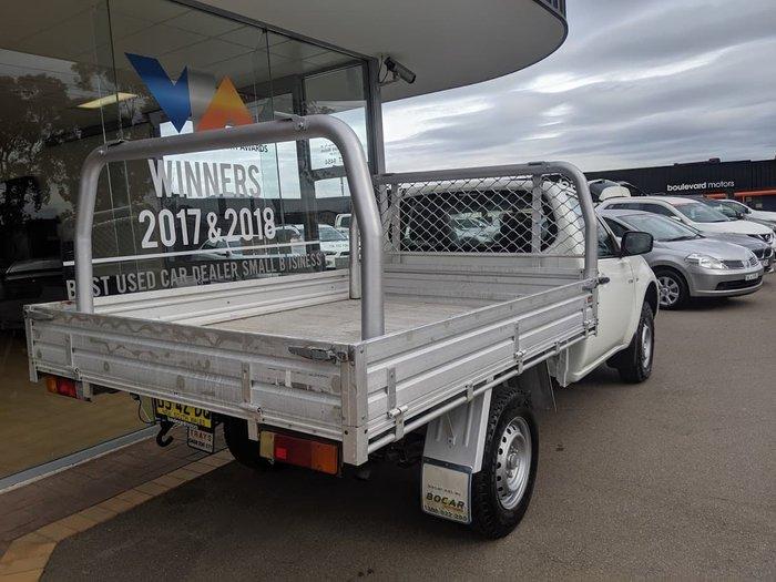 2012 Mitsubishi Triton GL MN MY12 White