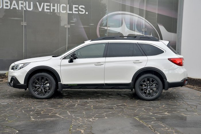 2019 Subaru Outback 2.5i-X 5GEN MY19 Four Wheel Drive White