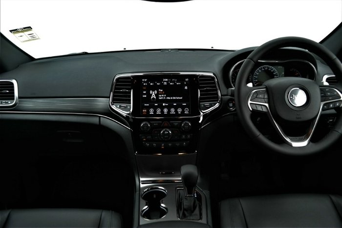 2019 Jeep Grand Cherokee S-Limited WK MY19 4X4 Dual Range BRIGHT WHITE