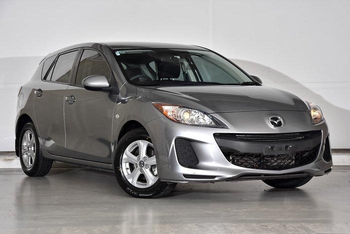 2013 Mazda 3 Neo BL Series 2 MY13 Silver