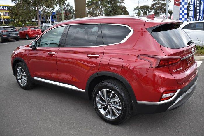 2018 Hyundai Santa Fe Elite TM MY19 4X4 On Demand Red