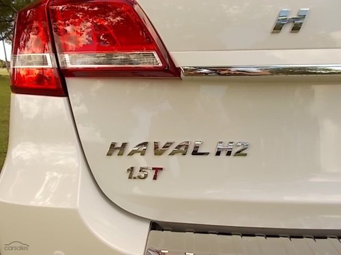 2019 Haval H2 City White