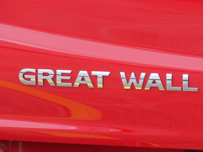 2019 Great Wall Steed NBP Red