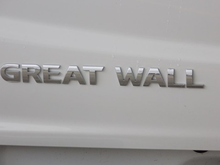 2019 Great Wall Steed NBP White