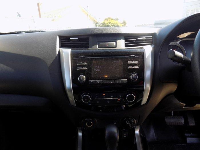 2017 Nissan Navara SL D23 Series 2 4X4 Dual Range White