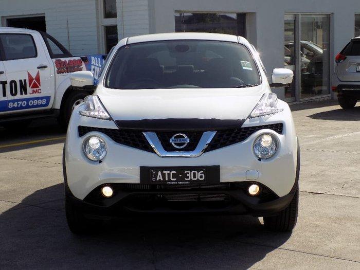2018 Nissan JUKE Ti-S F15 MY18 4X4 On Demand White