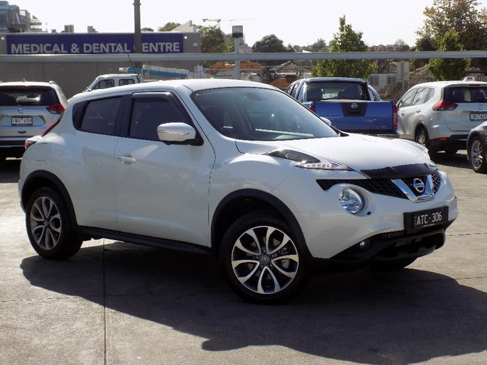 2018 Nissan JUKE Ti-S F15 MY18 4X4 On Demand White