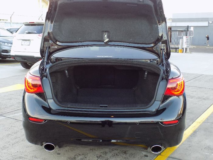 2015 INFINITI Q50 S Premium V37 Black