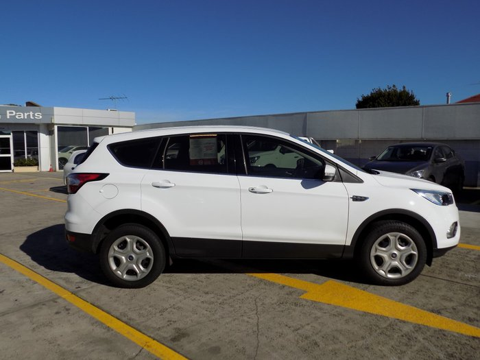 2017 Ford Escape Ambiente ZG White