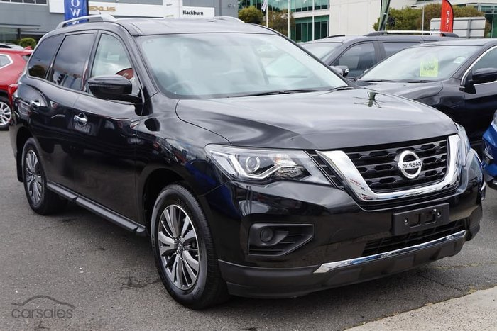 2019 Nissan Pathfinder ST R52 Series III MY19 4X4 On Demand Black