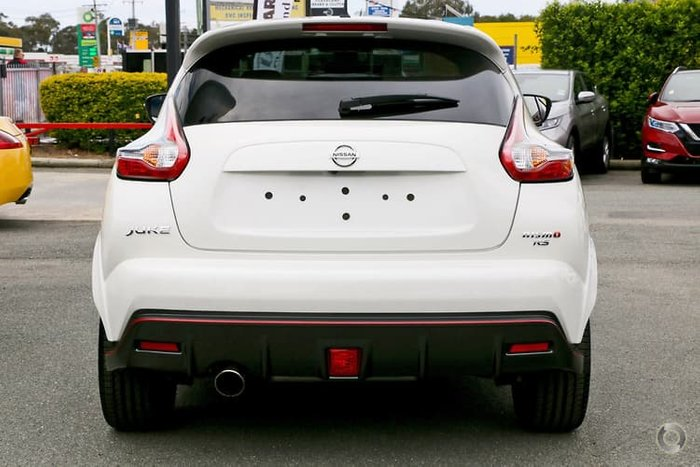 2018 Nissan JUKE NISMO RS F15 MY18 4X4 On Demand White
