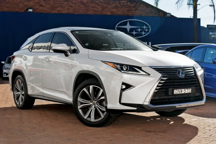 2017 Lexus RX350 Luxury GGL25R 4X4 On Demand White