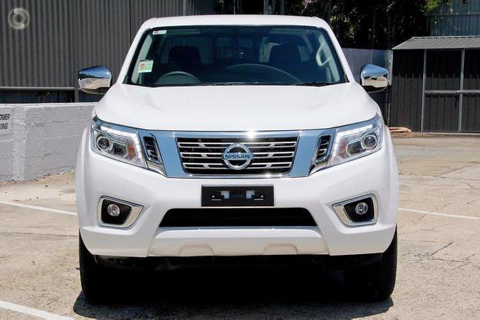 2019 Nissan Navara ST D23 Series 3 4X4 Dual Range White