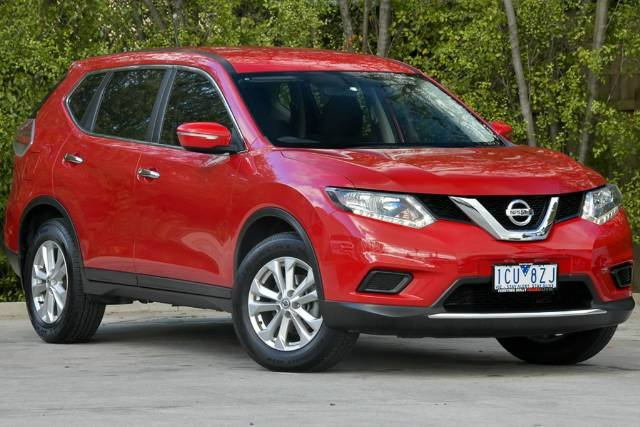2014 NISSAN X-TRAIL ST X-TRONIC 2WD T32 RED