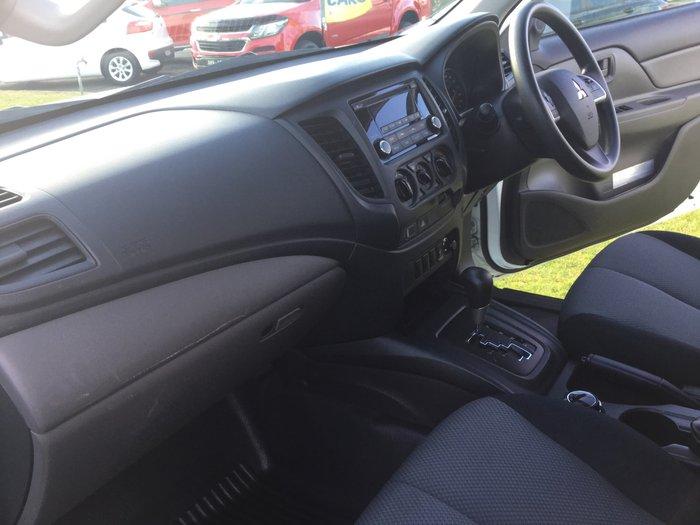 2016 Mitsubishi Triton GLX MQ MY16 4X4 Dual Range White