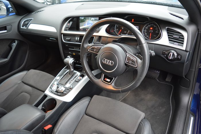 2014 Audi A4 S Line B8 MY14 Four Wheel Drive Blue