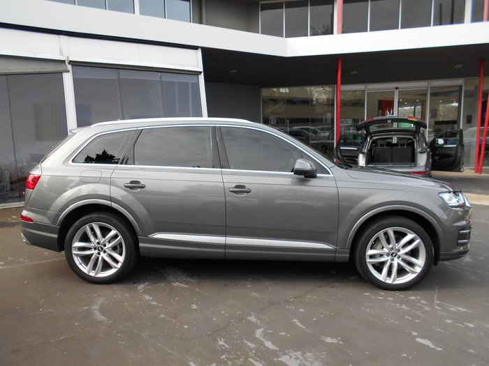 2016 Audi Q7 TDI 4M MY16 Four Wheel Drive Grey