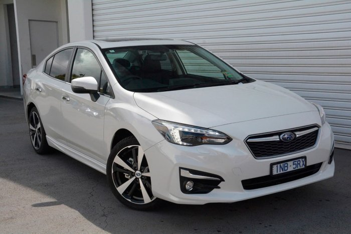 2019 Subaru Impreza 2.0i-S G5 MY19 Four Wheel Drive White