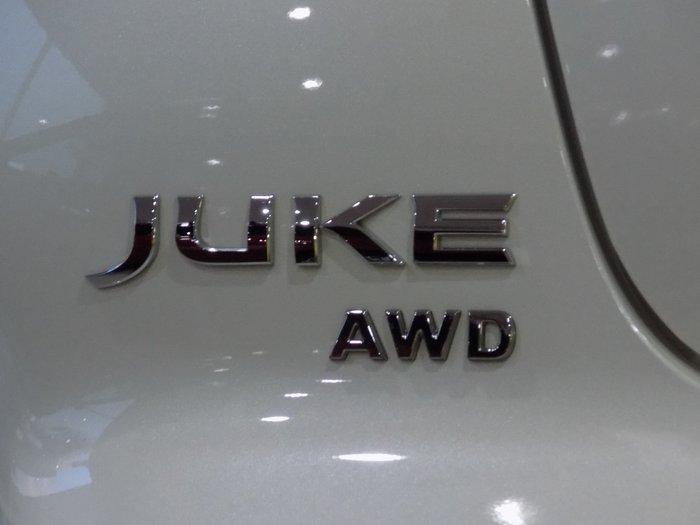 2018 Nissan JUKE Ti-S F15 Series 2 4X4 On Demand White