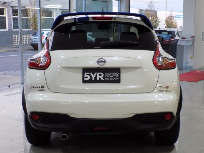 2018 Nissan JUKE Ti-S F15 Series 2 4X4 On Demand White