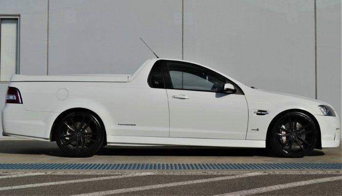 2011 Holden Ute SS Thunder VE Series II WHITE