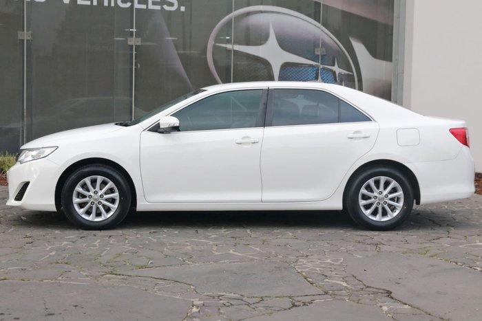 2012 Toyota Camry Altise ASV50R White