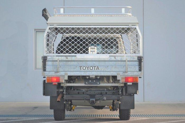 2015 Toyota Landcruiser GXL VDJ79R 4X4 Dual Range FRENCH VANILLA
