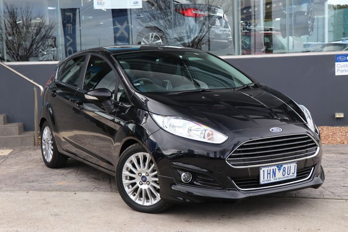 2015 Ford Fiesta Sport WZ MY15 Black