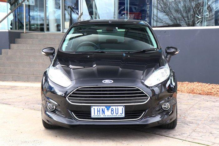 2015 Ford Fiesta Sport WZ MY15 Black
