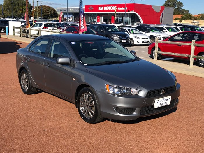 2013 Mitsubishi Lancer ES CJ MY13 Grey