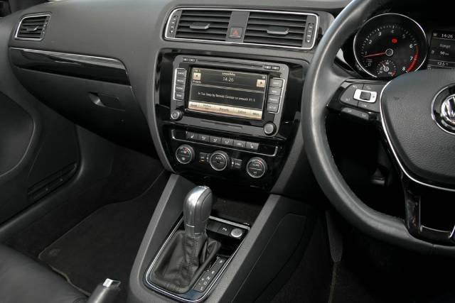2015 Volkswagen Jetta 155TSI Highline Sport 1B MY15 BLACK