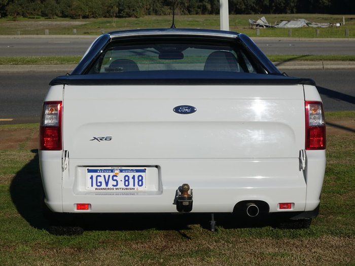 2015 Ford Falcon XR6 FG X White