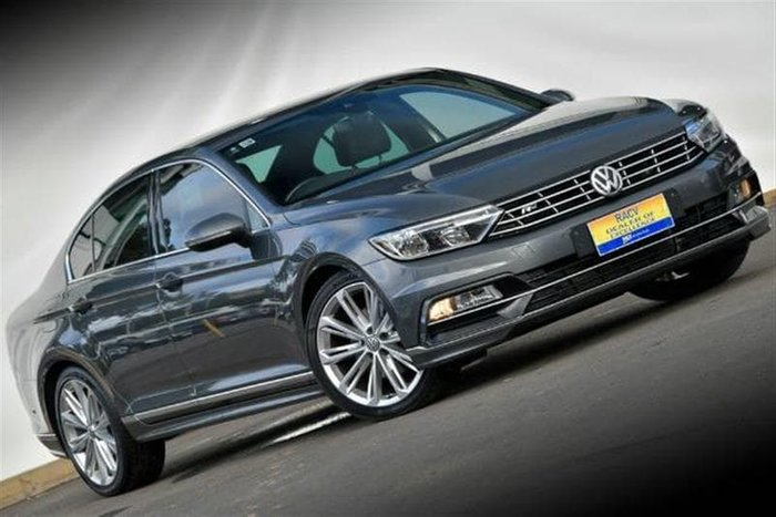 2015 Volkswagen Passat 140TDI Highline B8 MY16 Grey