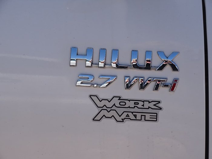 2009 Toyota Hilux Workmate TGN16R MY09 White